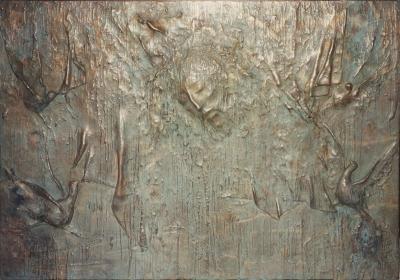 Frontale dell'altare della cappella Martinelli